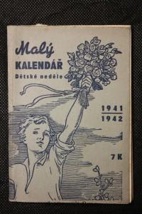 náhled knihy - Malý kalendář : Dětské neděle. Na školní rok 1941-1942. Ročník XIV.
