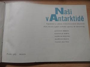 náhled knihy - Naši v Antarktidě : vyprávění a snímky čs. účastníků 3., 4. a 5. sovět. výpravy do Antarktidy