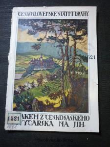 náhled knihy - Vlakem z Českého Švýcarska na jih