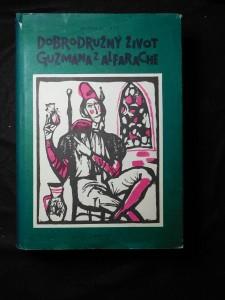 náhled knihy - Dobrodružný život Guzmána z Alfarache