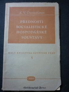 náhled knihy - Přednosti socialistické hospodářské soustavy