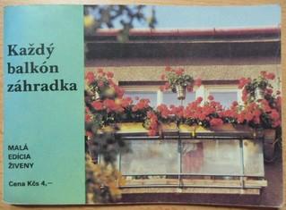 náhled knihy - Každý balkón záhradka