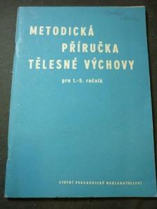 náhled knihy - Metodická příručka tělesné výchovy pro 1.-5. ročník základní devítileté školy