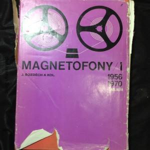 náhled knihy - Magnetofony : určeno [také] studentům odb. škol. I, 1956 až 1970