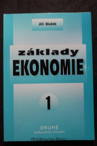 náhled knihy - Základy ekonomie 1