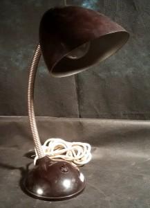 náhled knihy - bakelitová lampa, typ 11105