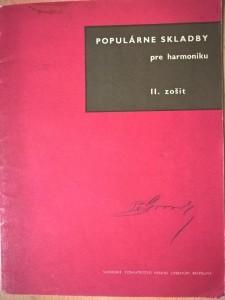 náhled knihy - Populárne skladby pre harmoniku (II. zošit)