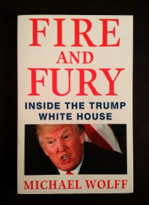 náhled knihy - Fire and fury : inside the Trump White House