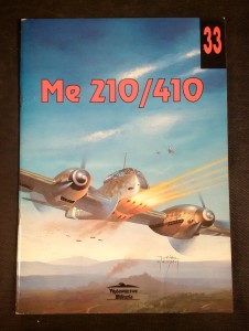 náhled knihy - Me 210/410 Messerschmitt Me210/Me410 (Militaria Aviation, 33) (Polish) Paperback