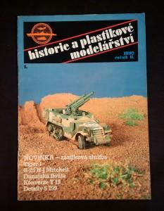 náhled knihy - Historie a plastikové modelářství 1992, ročník II.