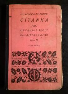 náhled knihy - Čítanka pro občanské školy chlapecké i dívčí. díl - II