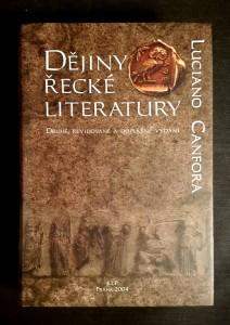 náhled knihy - Dějiny řecké literatury