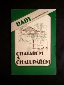 náhled knihy - Rady chatařům a chalupářům