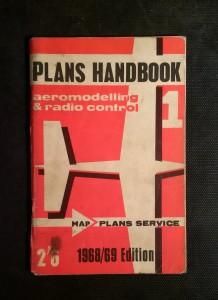 náhled knihy - PLANS HANDBOOK - AEROMODELLING & RADIO CONTROL 1968/69 Edition