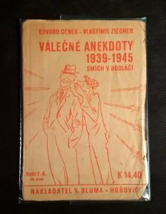 náhled knihy - Válečné anekdoty 1939-1945 : smích v bodláčí (sešit 7.-8.)