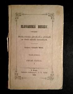 náhled knihy - Slovanské besedy - svazek jedenáctý: První češka I.