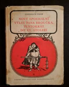 náhled knihy - Nový epochální výlet pana Broučka tentokrát do XV. století