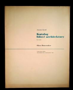 náhled knihy - Katalog lidové architektury. Část 3, Okres Brno-venkov