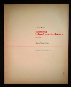 náhled knihy - Katalog lidové architektury. Část. 2, Okres Brno-město