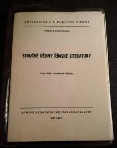 náhled knihy - Stručné dějiny římské literatury : Určeno pro posl. fak. filozof.