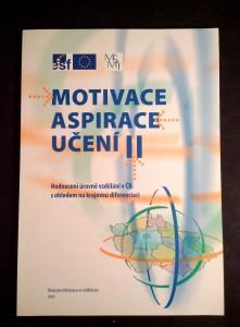 náhled knihy - Motivace, aspirace, učení II : hodnocení úrovně vzdělání v ČR s ohledem na krajovou diferenciaci