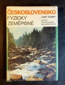 náhled knihy - Československo fyzicky zeměpisně