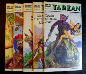 náhled knihy - Tarzan - svazek 6. 7. 8. 12. a 13.