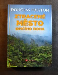 náhled knihy - Ztracené město opičího boha
