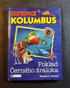 náhled knihy - Expedice Kolumbus. Poklad Černého žraloka