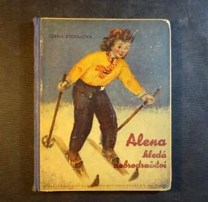 náhled knihy - Alena hledá dobrodružství