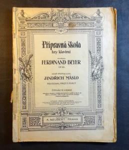 náhled knihy - Přípravná škola hry klavírní