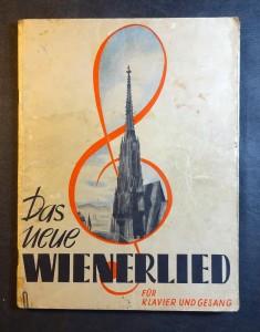 náhled knihy - Das neue Wienerlied für Klavier und Gesang