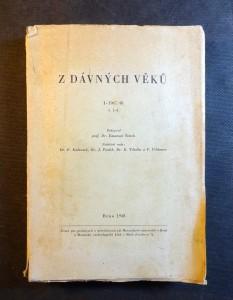 náhled knihy - Z dávných věků. I-1947/ 48