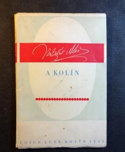 náhled knihy - Mikoláš Aleš a Kolín