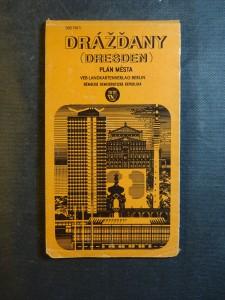 náhled knihy - Drážďany - plán města