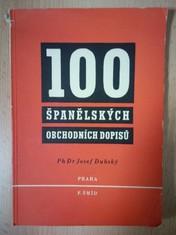 náhled knihy - 100 španělských obchodních dopisů