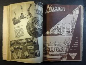 náhled knihy - Nazdar list dorostu ČOS (ročník 1947, 1. - 24. číslo)