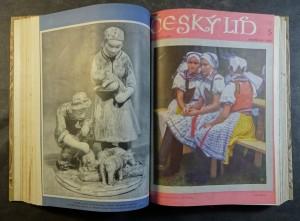 náhled knihy - Český lid (kompletní 40. a 41. ročník, 1953 - 1954)