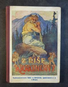 náhled knihy - Z říše Krakonošovy : nejkrásnější pohádky, báchorky a pověsti o pánu na Krkonošských horách