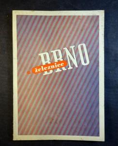 náhled knihy - Brno a železnice