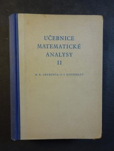 náhled knihy - Učebnice matematické analysy : vysokošk. příručka. 2. [díl]