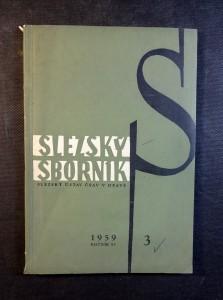 náhled knihy - Slezský sborník - Acta Silesiaca (ročník 57. - 1959)