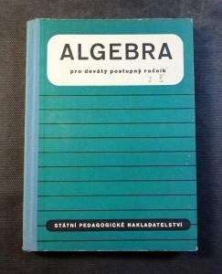 náhled knihy - Algebra pro devátý postupný ročník