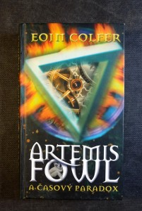 náhled knihy - Artemis Fowl a časový paradox