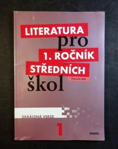 náhled knihy - Literatura pro 1. ročník středních škol : zkrácená verze