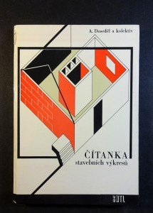 náhled knihy - Čítanka stavebních výkresů : pomocná kniha pro 2. a 3. roč. stavebních učeb. oborů