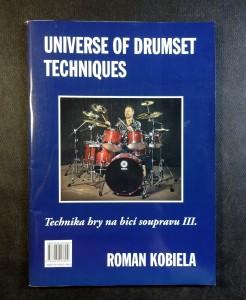 náhled knihy - Universe of drumset techniques - Technika hry na bicí soupravu III.