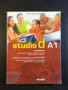 náhled knihy - Studio d A1 : němčina pro jazykové a střední školy zpracovaná podle Společného evropského referenčního rámce pro jazyky A1