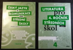 náhled knihy - Literatura pro 4.ročník středních škol + Český jazyk a komunikace pro střední školy
