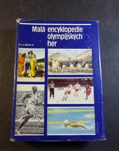 náhled knihy - Malá encyklopedie olympijských her